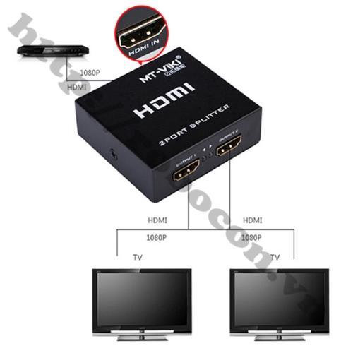 Bộ Chia HDMI 1 Ra 2 Full HD 1080