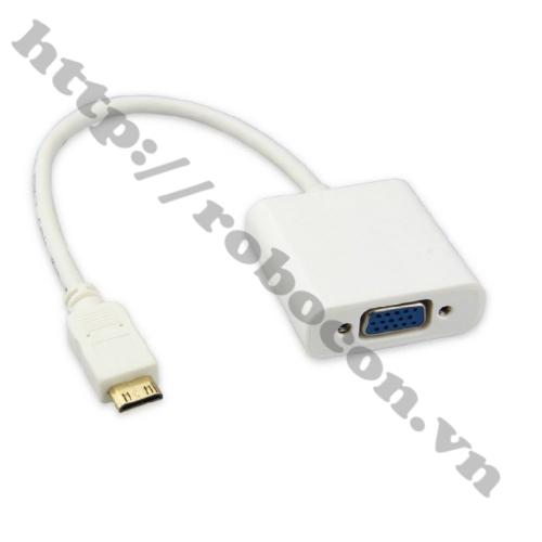 Cáp Chuyển Đổi Tín Hiệu HDMI To VGA