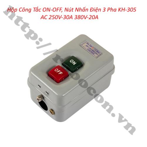Công Tắc Điện 3 Pha Cho Thiết Bị Điện KH-305 AC 250V-30A 380V-20A