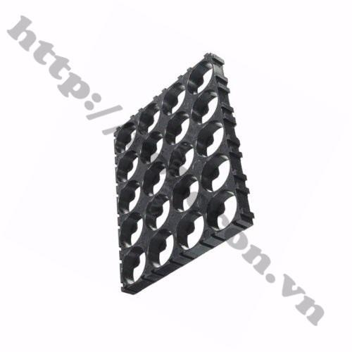 Khung Gắn Pin 18650 4x5 Cell 20P