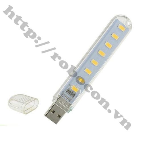 Đèn LED USB 8 Bóng Siêu Sáng
