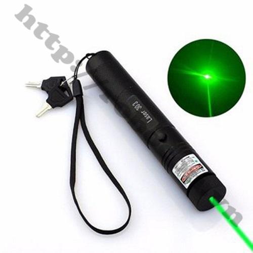 CBM30 Đèn pin Laser LASER 303 Kèm Pin, Sạc