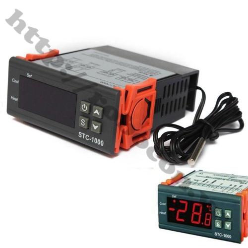 Bộ Điều Khiển Nhiệt Độ Kỹ Thuật Số -50℃ ~ + 110℃ STC-1000 - 12V