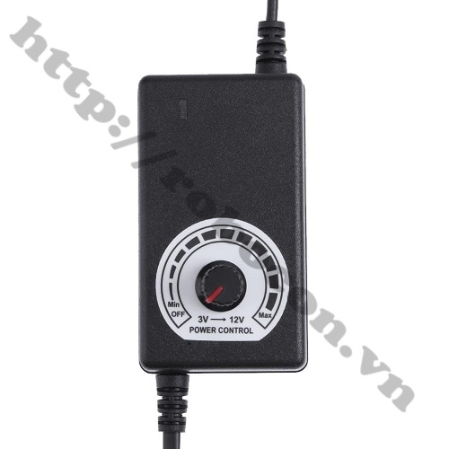Adapter Điều Chỉnh Điện Áp 3-12V 2A