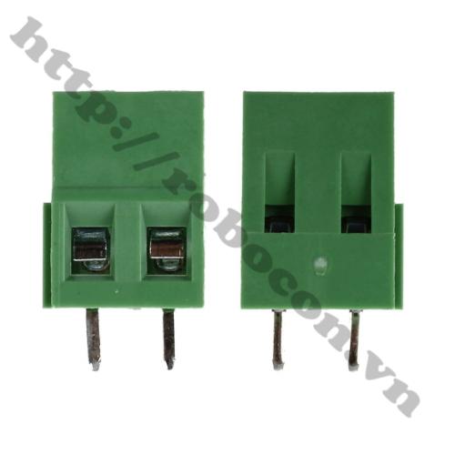 CO237 Domino 2 – Nối Nguồn 2 Chân Thẳng – Terminal MG128-2P 300V 10A