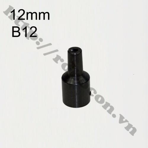 PKK533 Đầu Nối B12 Nối Trục 12mm Với Đầu Kẹp Mang Ranh 1.5-10mm