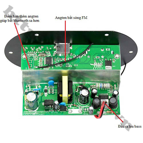 MDL151 Bộ Điều Khiển Giải Mã-Khuếch Đại Âm Thanh Bluetooth H10A