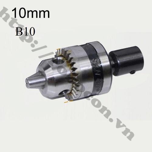 PKK535 Đầu Nối B10 Nối Trục 10mm Với Đầu Kẹp Mang Ranh 0.6-6.5mm