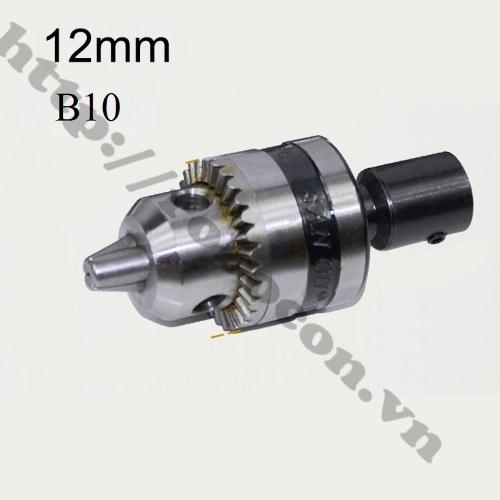 PKK536 Đầu Nối B10 Nối Trục 12mm Với Đầu Kẹp Mang Ranh 0.6-6.5mm