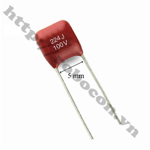 TD154 Tụ Điện CBB 100V 224J 0.22uF