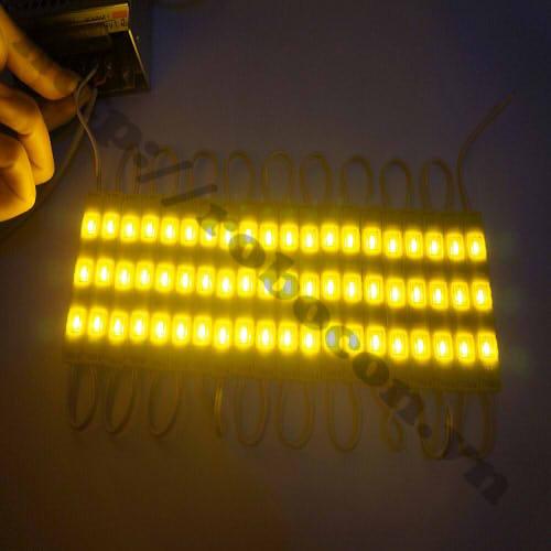 LED100 Dây Led Hắt Thanh 3 Bóng Ánh Sáng Vàng