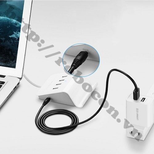 CO144 Dây Nguồn Cổng USB Ra Đầu DC 5.5X2.1 mm