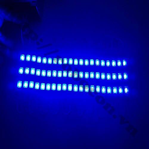 LED101 Dây Led Hắt Thanh 3 Bóng Xanh Dương