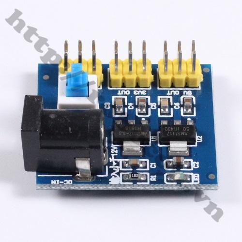 MDL202 Module Hạ Áp 12V DC Xuống 3.3V – 5V