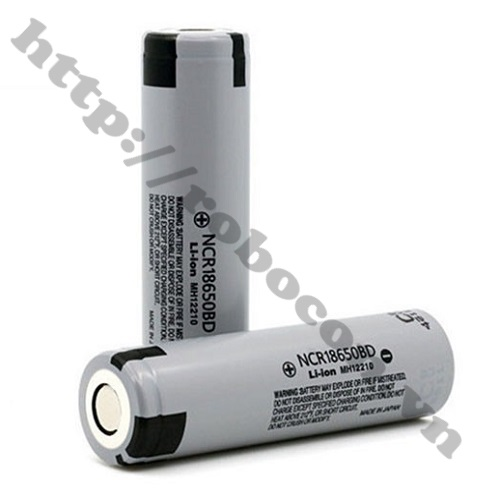 PPKP50 Pin Panasonic NCR 18650BD 3200mAh-10A 7207 Chính Hãng