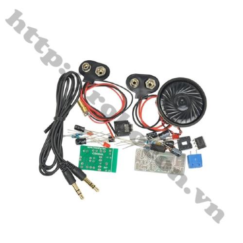 Module PCB Thu Phát Âm Thanh Bằng Laser (Tự Ráp)