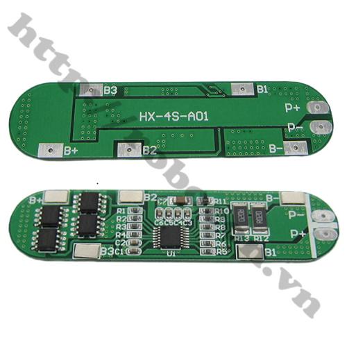 Mạch Sạc và Bảo Vệ Pin 3.7V 4S 12A 14.8V-16.8V