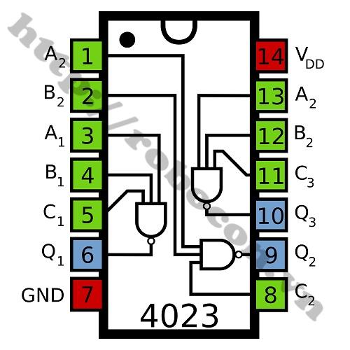 IC106 IC CD4093 14 Chân