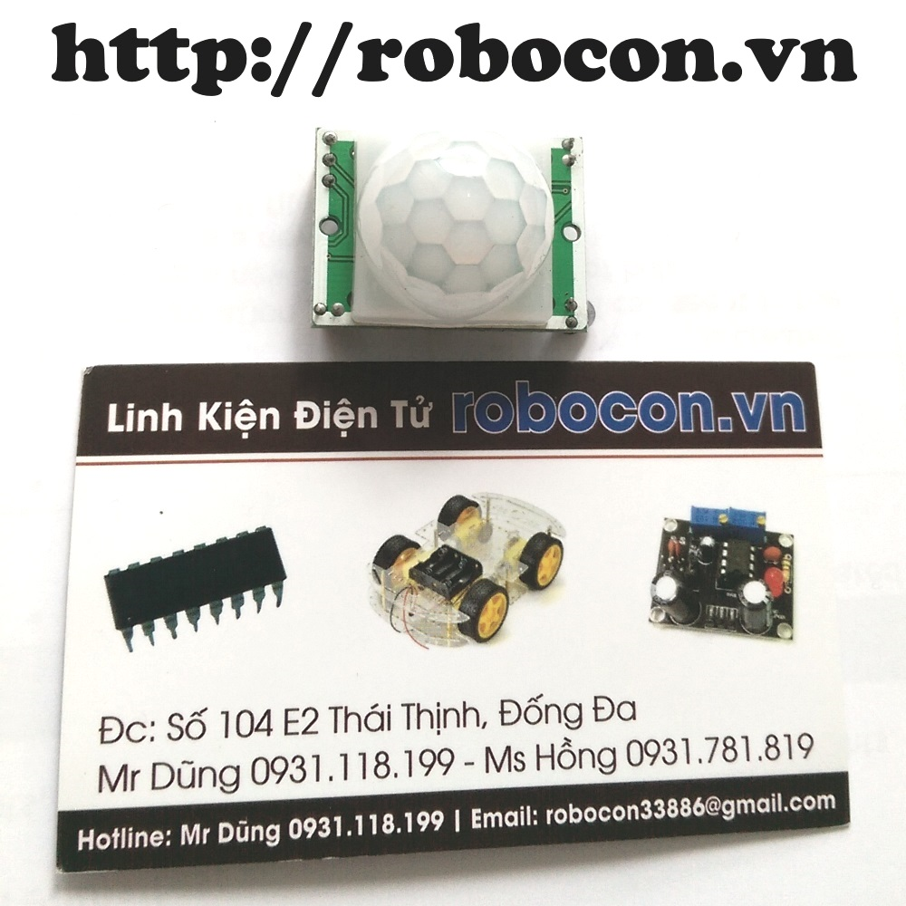 Module cảm biến chuyển động HC-SR501