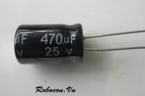 DT 20 Tụ hóa 470uF 25V