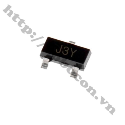 Transistor S8050 J3Y NPN 0.5A 40V SOT-23 SMD