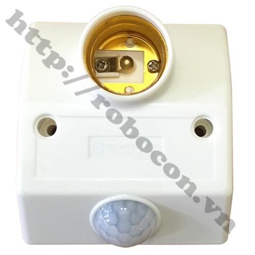 Đui đèn cảm ứng hồng ngoại- Đui Đèn Cảm Biến Chuyển Động