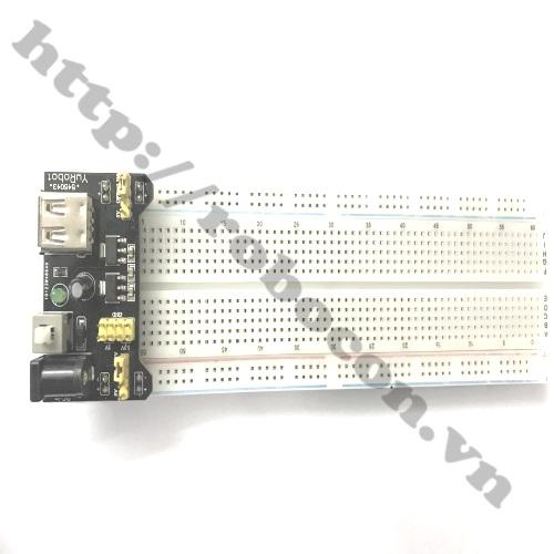 Combo module nguồn AMS1117 3.3V-5V và board test MB-102