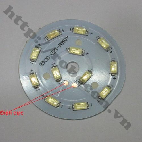 LED78 Nhân Đèn Led 12VDC-7W Dạng Vòng