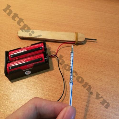 Dây nối pin, hàn pin, hàn mạch loại 15cm