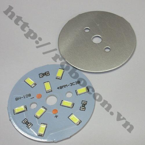 LED86 Nhân Đèn Led 9VDC-5W Dạng Vòng