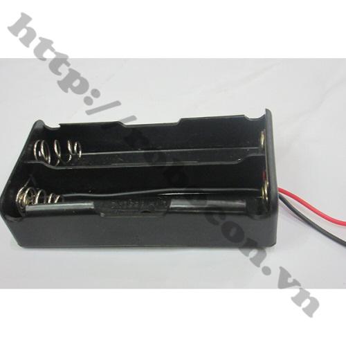 PPKP19 Hộp Đế Pin ULTRAFIRE 18650 - 2 Pin Mắc Song Song