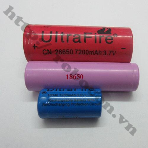 PPKP35 Pin Sạc Li-Ion 26650 3.7V 7200mAh