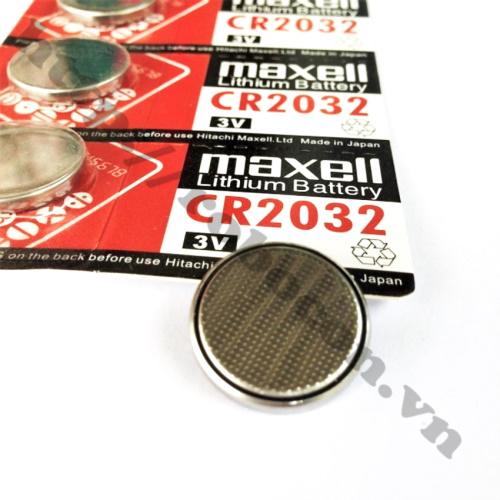 Pin CR2032 Maxell Lithium, Pin Cmos 3V