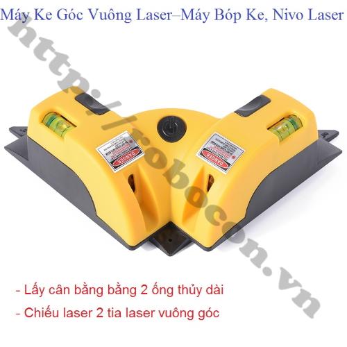 Máy Ke Góc Vuông Laser – Máy Bóp Ke, Nivo Laser