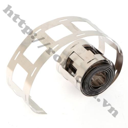 Kẽm Đôi Hàn Cell Pin 0.15mm