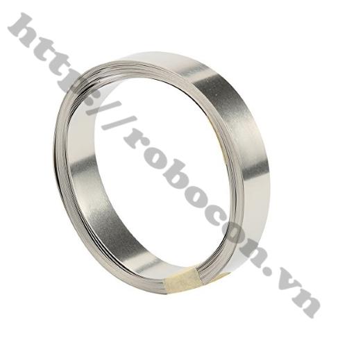 Kẽm Hàn Cell Pin 0.15*8mm (Cuộn 10m)