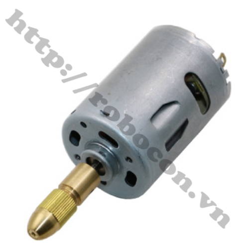 Bộ 5 Kẹp Mũi Khoan 0.5mm Đến 3mm sử dụng cho động cơ trục 3.17mm
