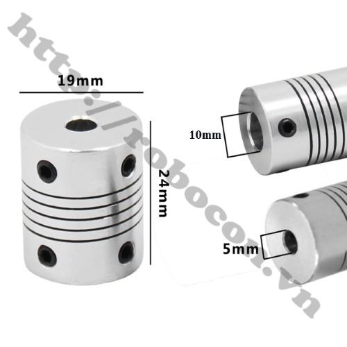 Khớp Nối Mềm – Nối Trục 5mm-5mm