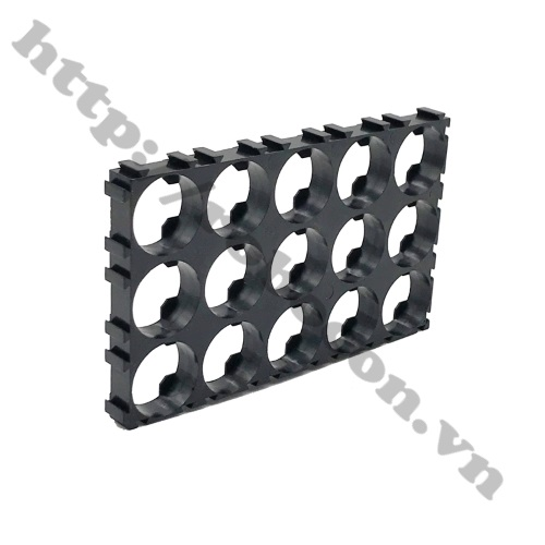 Khung Gắn Pin 18650 3x5 Cell 15P