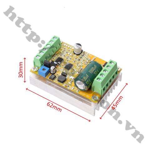 MDL329 mạch xung (mạch ESC) điều khiển động cơ không chổi than BLDC 3 Pha 6V – 50V 380W