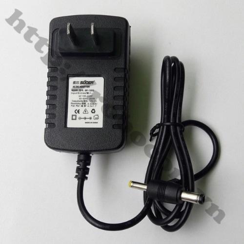 NG44 Nguồn Adapter 9V 2A Ra 2 Đầu Jack 5.5X2.5mm - 4X1.7mm