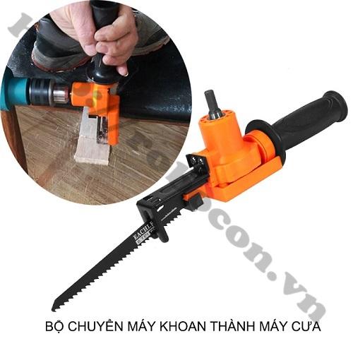 Chỉ cần có máy khoan mà vẫn có thể cưa kim loại & cắt gỗ - Tiết kiệm chi phí và công sức!