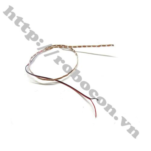 LED137 Led dây dán ô tô xe máy 12V-1m đỏ