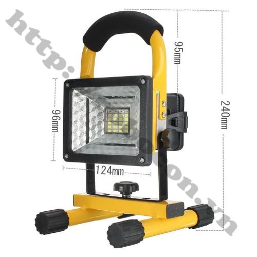 Đèn LED Xách Tay Tích Điện Siêu Sáng 30W