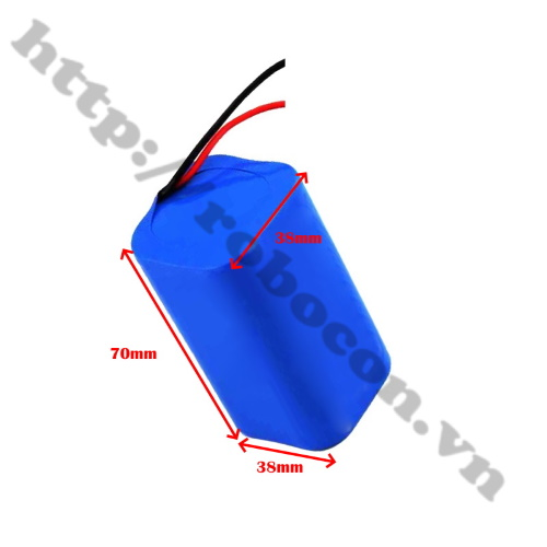 CBM116 Pin Robocon - Pin Sạc Lithium 4S 18650 14.8V-16.8V 2500mah