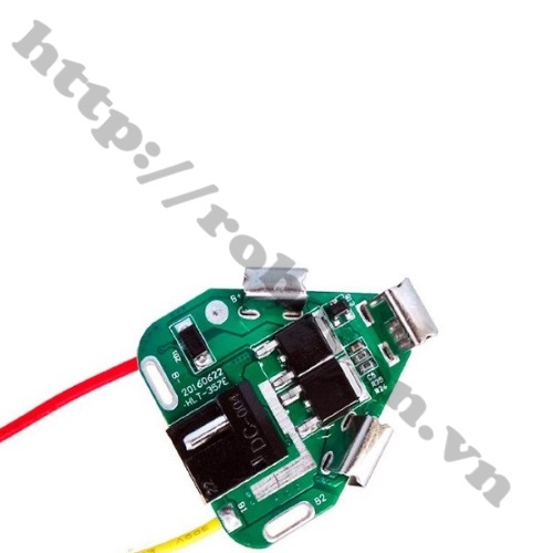 Mạch Sạc Và Bảo Vệ Pin 3S 12V Chế Pin Máy Khoan