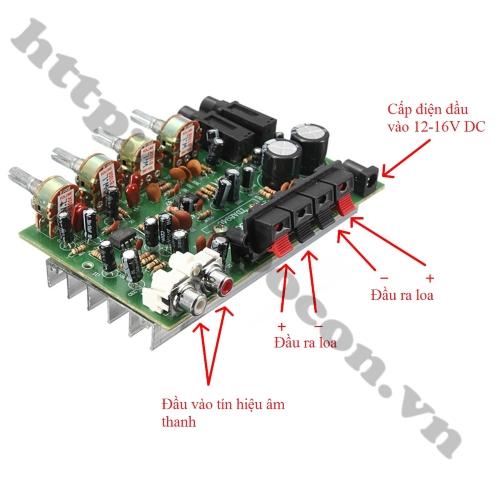 Mạch Khuếch Đại Micro Karaoke Tạo Vang DX0809