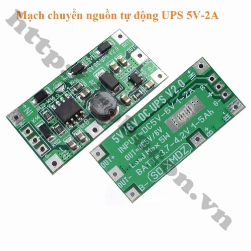 Mạch Chuyển Nguồn Tự Động 5V 5W