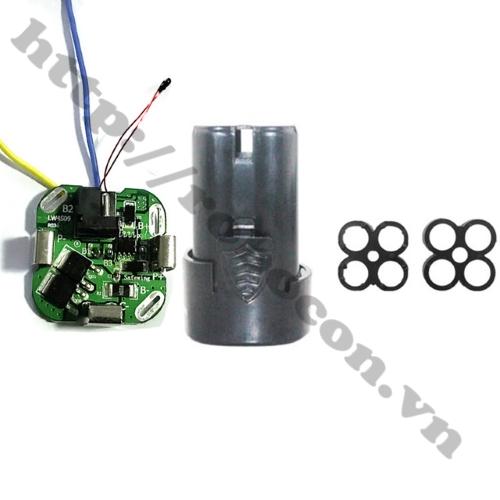 Mạch Sạc Và Bảo Vệ Pin 4S 14.4V Chế Pin Máy Khoan sử dụng để chế pin máy khoan cùng với vỏ pin khoan