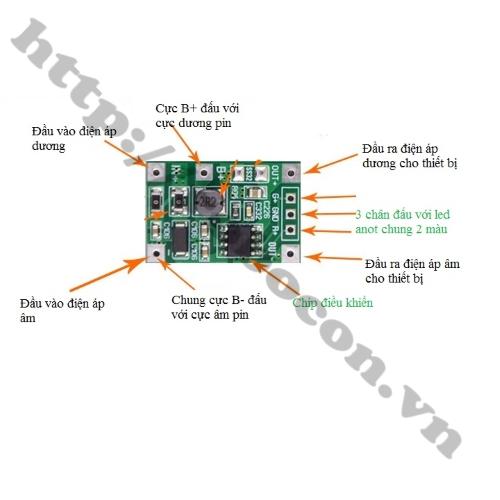 MDL287 Mạch UPS Mini Chuyển Nguồn Tự Động 5V 5W V1 0